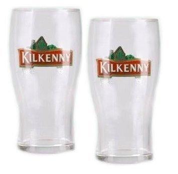 6x Kilkenny Glas 0,4L Gläser Bier Guinness Red Ale