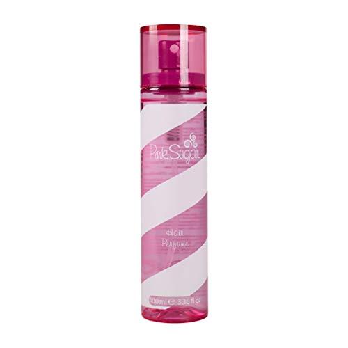 Acquolina Spray de Perfume Capilar Pink Sugar en formato de 100ml, laca para el pelo femenina, fragancia floral afrutada, golosa e irresistible