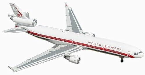 Daron Worldwide Trading GJ599 Zwillinge Welt MD-11 Retro Livery 1 400