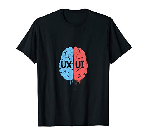 Designer Brain for UIUX Designers T Shirt