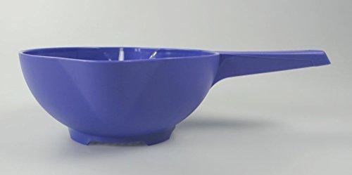 TUPPERWARE Küchenhelfer Sieb Goldregen lila handliches Sieb Siebling Handsieb