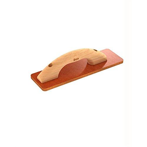 Bon 22-220 - Llana de resina recta, 30,5 x 8,9 cm, mango de madera