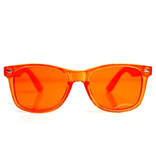 GloFX Orange Color Therapy Glasses Chakra Glasses Relax Glasses