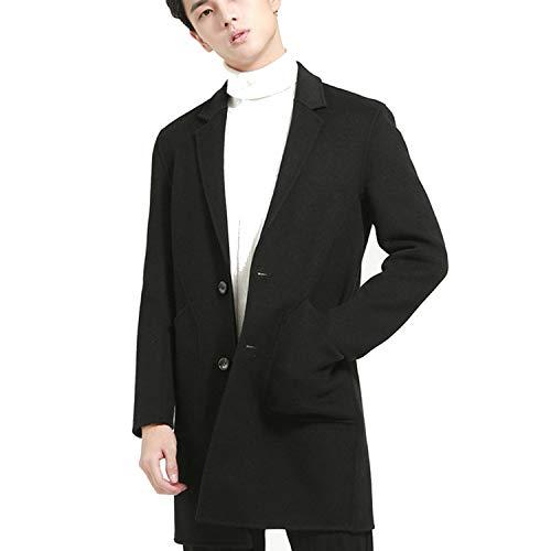 Dronken Breeze Winterjas Nieuwe Plus Size Cashmere Camel Trench Jassen voor Mannen Korea Stijl Warm Dikke Jassen