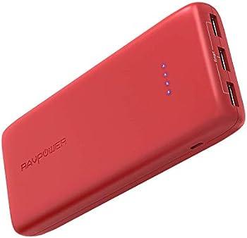 RAVPower RP-PB052 22,000mAh 5.8A Output 3-Port Portable Power Bank