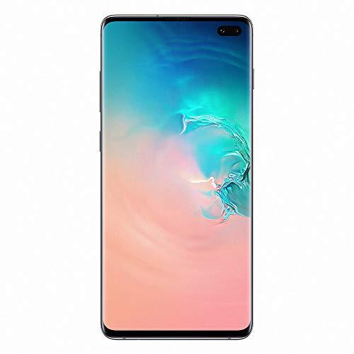 Samsung Galaxy S10 Plus - Smartphone portable débloqué 4G (Ecran : 6,4 pouces - 128 Go - Double Nano-SIM - Android) - Blanc - Version Française
