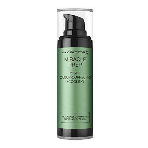 Max Factor Miracle Prep, Primer corrector del color y refrescante - 30 ml