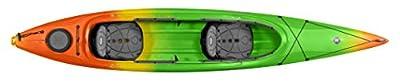 9331035139 Perception Kayak Cove Starburst, Orange/Green, Size 14.5 T by Confluence Kayaks
