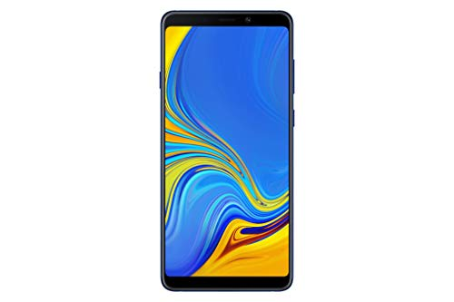 Samsung Galaxy A9 (Single SIM) 128GB 6.3 Inch FHD+ Android 8.0 Oreo UK Version SIM-Free Smartphone – Blue
