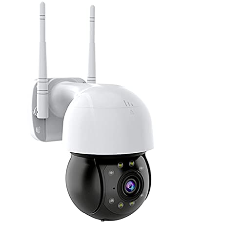 KANGLE-DERI Camera di Sicurezza 3MP Outdoor, IP Camera 360 Wireless PTZ WiFi CCTV Outdoor Outdoor Surveillance Night Vision Camera Ai Direzione Umana Audio Chiamata