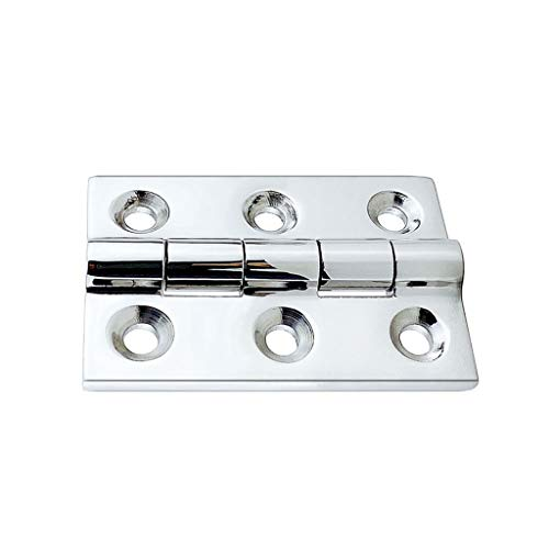 YUTRD ZCJUX Strap Door Hinge 50x75 mm Marine Stainless Steel Deck Boat Truck Easy to Install