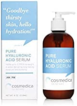 100% Pure Hyaluronic Acid Serum (8oz) Pure-Highest Quality Anti-Aging Serum