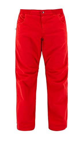 Café Kraft Flow Pants - Pantaloni da arrampicata Climbing, da uomo Lava Falls L