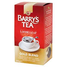 Barry's Gold Loose Tea (250 gram) x 2 box (500 gram total) Imported from Ireland