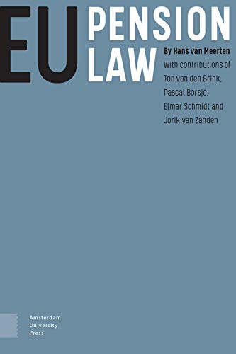 Compare Textbook Prices for EU Pension Law  ISBN 9789463725217 by Meerten, PROF Hans van