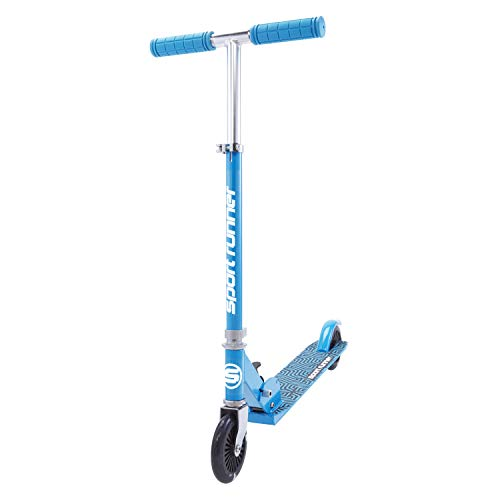 Select Series 2 Wheel Kick Scooter for Boys and Girls Ages 5 and Up, PU LED Light Up Wheels, Adjustable Height Kick Scooter, Colors for Boys and Girls