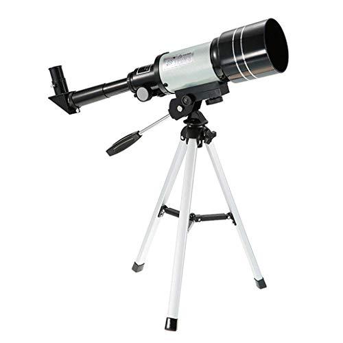 KZEN 150 × Telescopio De Alta Potencia, Telescopio Astronómico Monocular Y Equipado con Trípode De 70 Mm Telescopio Refractor