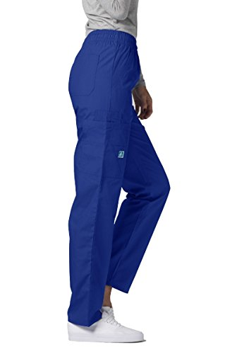 Adar Uniforms Medizinische Schrubb-hosen – Damen-Krankenhaus-Uniformhose 506 Color RYL | Talla: S - 3