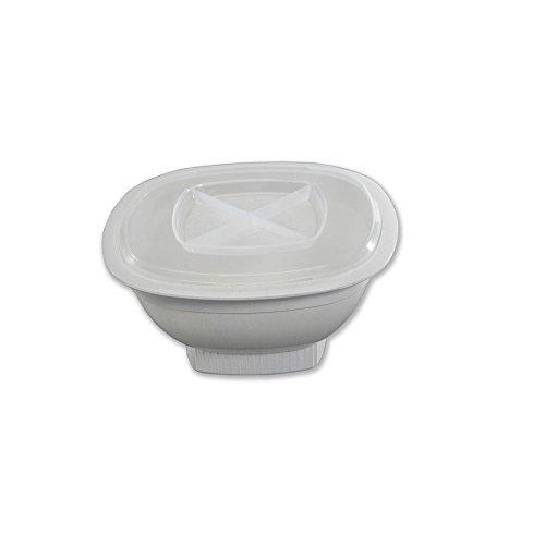 Nordic Ware 60120 - Contenitore per Realizzare Popcorn al microonde, per 12 Tazze, Colore Bianco