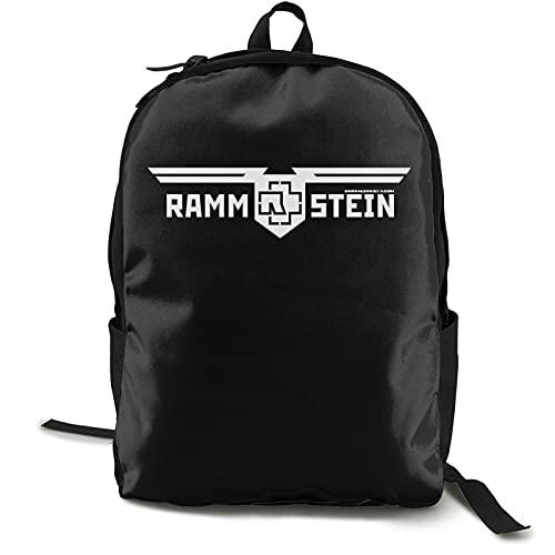 Ram_Mstein Classic - Mochila escolar para niños y niñas, con bolsa de almuerzo, color azul