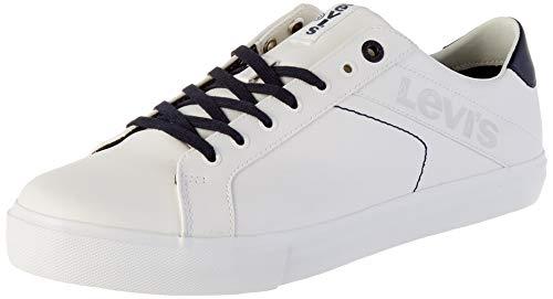 Levi's Woodward L, Baskets Homme, Blanc (Regular White 51), 42 EU