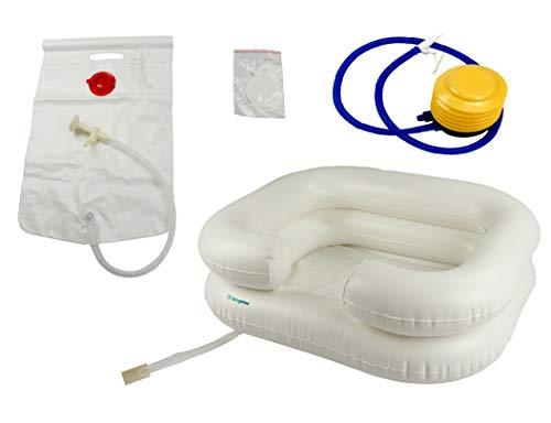 Ba/ñera anat/ómica con asiento de doble posici/ón Para beb/és de 0 a 15 meses beige beige Talla:largo