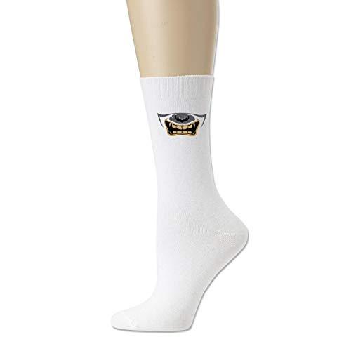 Japanese Oni Mask Women Breathable Crazy Socks Cute Socks Cotton Socks