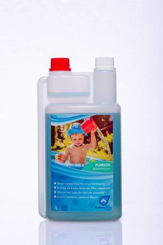 KaiserRein Planschi zur Desinfektion und Reinigung von Kinder- Planschbecken Pool und Schwimmbad I Desinfizieren ohne Chlor