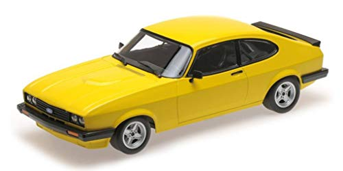 Minichamps – Ford – Capri RS 2600 – 1978 Auto Miniatur-Collection, 155788601, gelb