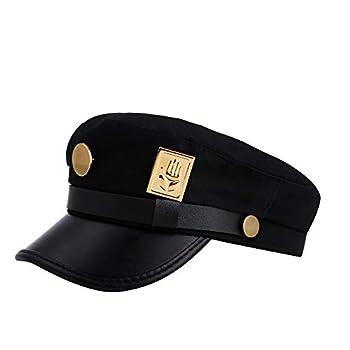 JoJos Hats Bizarre Adventure Jotaro Hat  Black Strip