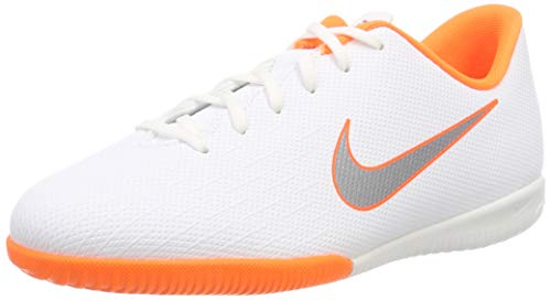 Nike Unisex-Erwachsene Mercurial Vapor X 12 Academy IC JR AJ310 Fußballschuhe, Mehrfarbig (Indigo 001), 36 EU