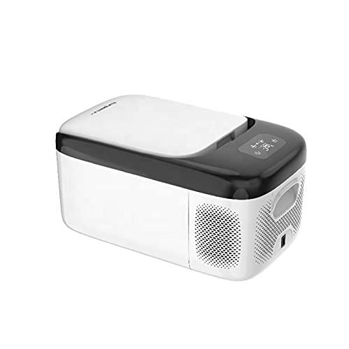 Mini Refrigerador De Coche De 12 V / 24 V 18L, Frigoríficos para Coche, Pesca, Acampar Al Aire Libre, RV, Navegación, Congelador Portátil para Coche