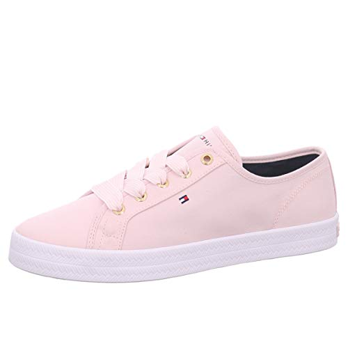 Tommy Hilfiger Damen Essential Nautical Sneaker, Pink (Pale Pink Tap), 40 EU
