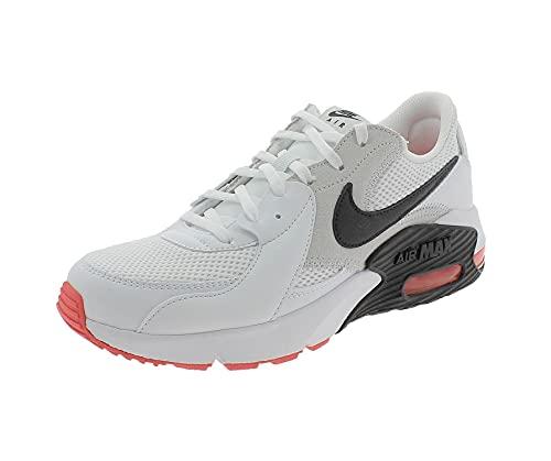 Nike Air MAX Excee, Zapatillas para Correr Hombre, White Black Photon Dust BRT Crimson, 41 EU