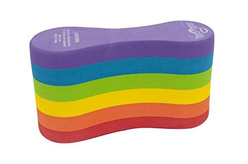 SWIMXWIN Pull Buoys zwemtrainer PRO6 Rainbow | volwassen maat | Italiaans design