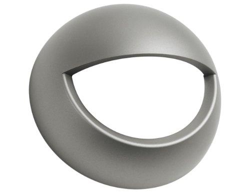 Afdekking voor Esy-lux bewegingsmelder/roestvrijstalen look / IP55 EM10041129