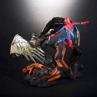 スパイダーマン:ホームカミング プレミアムBOX 限定コレクタブル・フィギュア スパイダーマン vs バルチャー