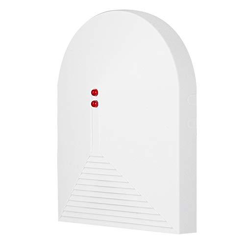 Garsent Detector inalámbrico de Rotura de Cristales, 433MHz Sensor de Rotura de Cristales Rotos de Ventana Sistema de Alarma de Seguridad para el hogar