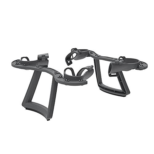 2 in 1 atterraggio braccio braccio braccio protezione protezione per DJI FPV Drone Bracciali Braccio Rafforzamento Aumentare carrello di atterraggio, grigio scuro