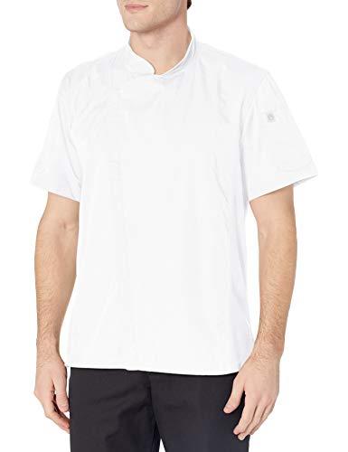 Chef Works Men's Springfield Chef Coat, 4XL White