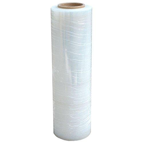 "8 Rolls 18"" x 1500 Ft Stretch Wrap Heavy Duty, Industrial Strength Shrink Wrap, 55 Gauge High Performance Stretch Film Replaces 80 Gauge Low Films, Clear Hand Stretch Wrap Photo #2"