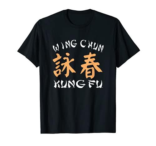 Wing Chun Kung Fu Conception inspirante darts martiaux T-Shi