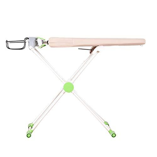 XiuHUa Strijkplank, huishoudelijke opklapbare draaitafel groot strijkijzer tafel met ijzeren plaat, vijf-speed verstelbare multifunctionele strijkplank Strijkplank