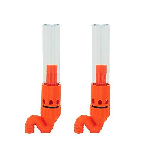Justponics Mini Bell Siphon v3 (Set of 2) - new