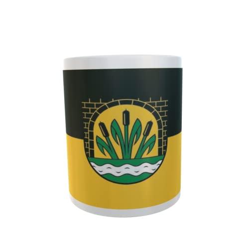 U24 Tasse Kaffeebecher Mug Cup Flagge Klötze OT Jahrstedt