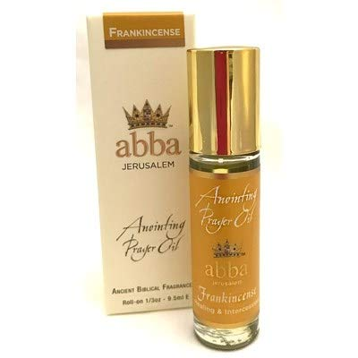 ABBA Anointing Oil-Roll On-Frankincense-1/3 Oz