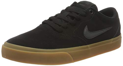 Nike SB Charge Suede, Gymnastics Shoe Unisex Adulto, Negro/Anthracite Gum Light Brown, 44 EU