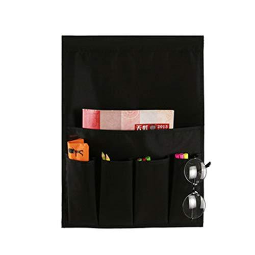 QINAIDI 5 Taschen Armlehnen Organizer für Telefon, Buch, Zeitschriften, TV-Fernbedienung, für Sofa Couch Chair,1