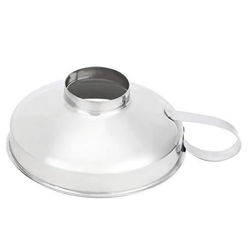Uxsiya Cocina, Taza de Embudo para conservas Taza de Embudo Extra Gruesa Taza de Embudo para conservas de Boca Ancha para embotellar para Ahorrar Tiempo para Soja