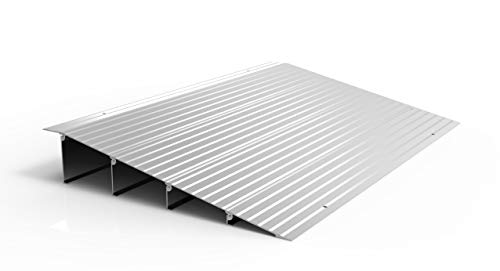 commercial EZ-ACCESS TRANSITIONS modular aluminum access lamp, 4 inches high threshold ramps